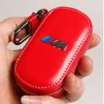BMW - M REAL LEATHER CAR KEY CASE (RAD)