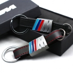 BMW - M POWER LOGO LEATHER KEYRING