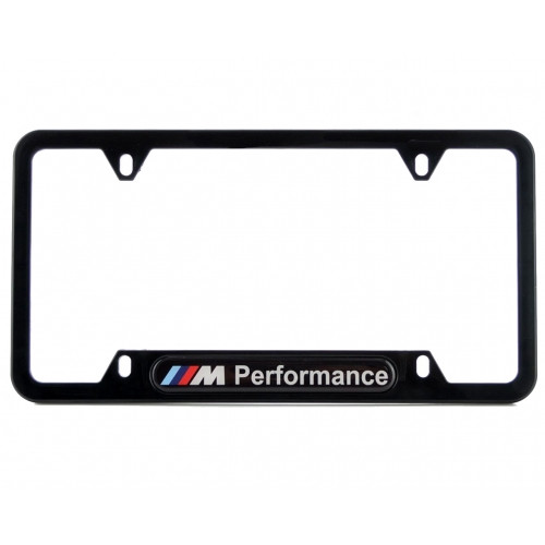 Bmw Standart License Plates Frames With M Performance