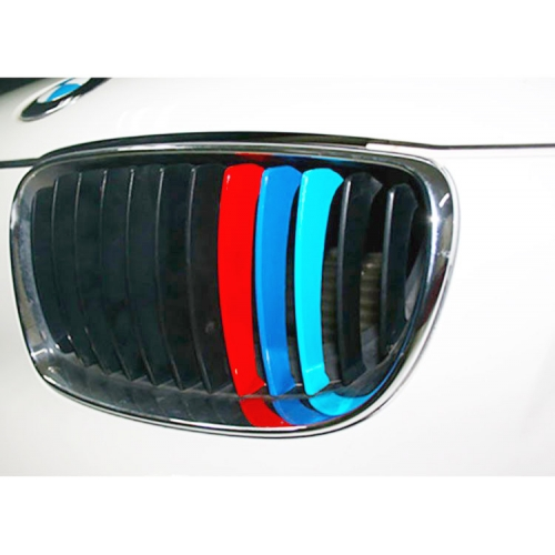 BMW M CAR STYLING PERSONALIZED GRILLE TUNING VINYL STICKERS V - Custom car decals australia   how to personalize