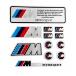 BMW - 1SET M 1 3 5 6 SERIES CAR STICKER PVC DECALSX3 X5 X6