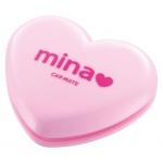 CARMATE - MINA LIGHT PINK HEART FRAGRANCE (ROSE)