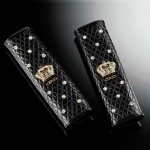 DAD GARSON - LUXURY SEAT BELT PAD TYPE CROWN - GOLD