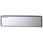 NAPOLEX - BROADWAY 270MM FLAT ALUMINUM PLATING REAR WIDE VIEW MIRROR