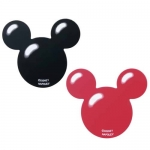 NAPOLEX MICKEY - NON-SLIP MAT 2 PIECES (BLACK&RED)