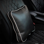 ONGO - CAR LEATHER COLORFUL PILLOW BLACK WHITE
