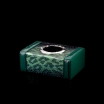 ONGO - CAR GREEN CROCODILE PATTERN SERIES SMALL TISSUE BOX