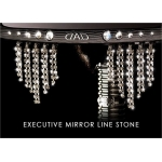 DAD GARSON - EXECUTIVE MIRROR 8xLINE STONE WIDE VERSION