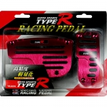 TYPE-R - RACING PEDAL AUTO RED
