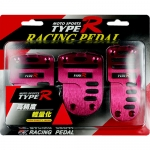 TYPE-R - RACING PEDAL MANUAL RED
