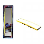 TYPE-R - WIDE CONVEX REAR ROOM MIRROR YELLOW (300MM)
