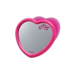CARMATE - MINI MIRROR HEART PINK