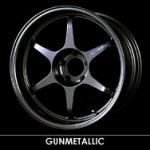 BUDDY CLUB - P1 RACING QF GUNMETTALLIC WHEELS